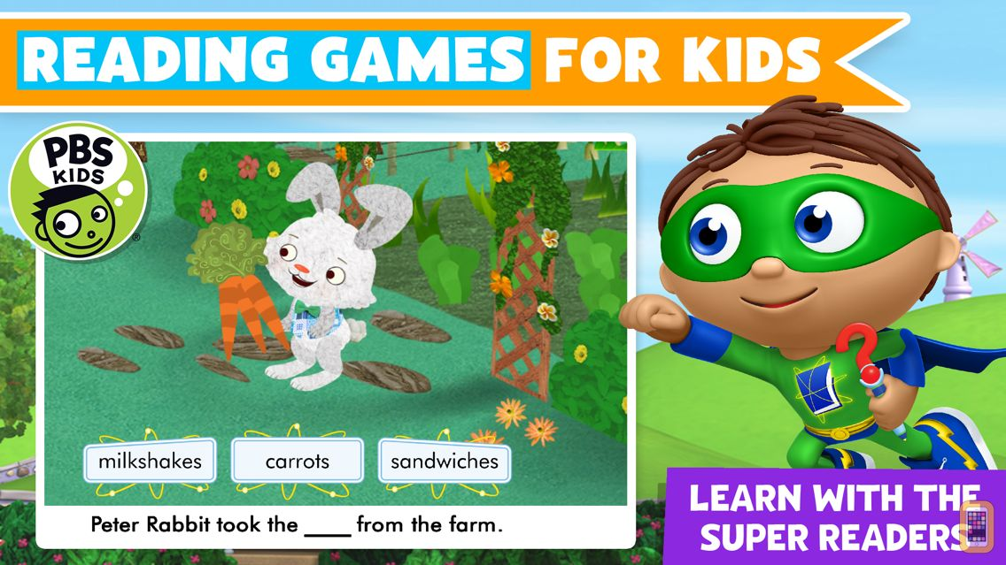 Screenshot - Super Why! Power to Read