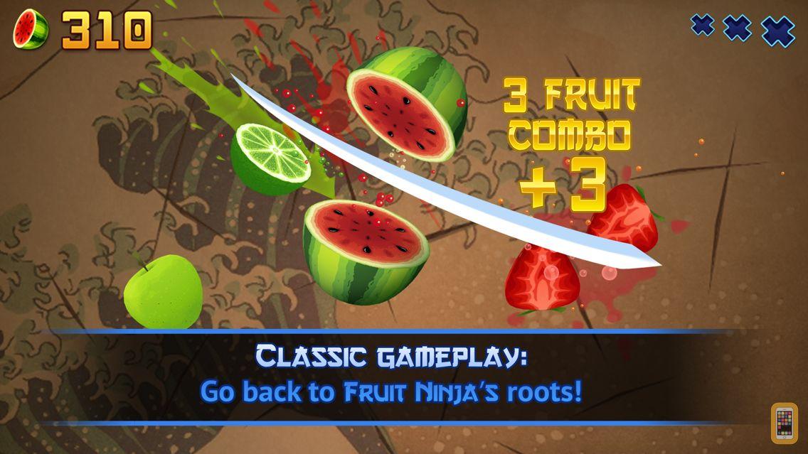 Screenshot - Fruit Ninja Classic