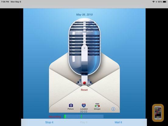 Screenshot - Say it & Mail it Pro Recorder