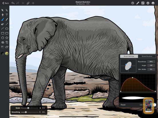 Screenshot - Graphic for iPad