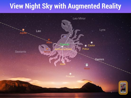 Screenshot - Star Walk HD - Night Sky View
