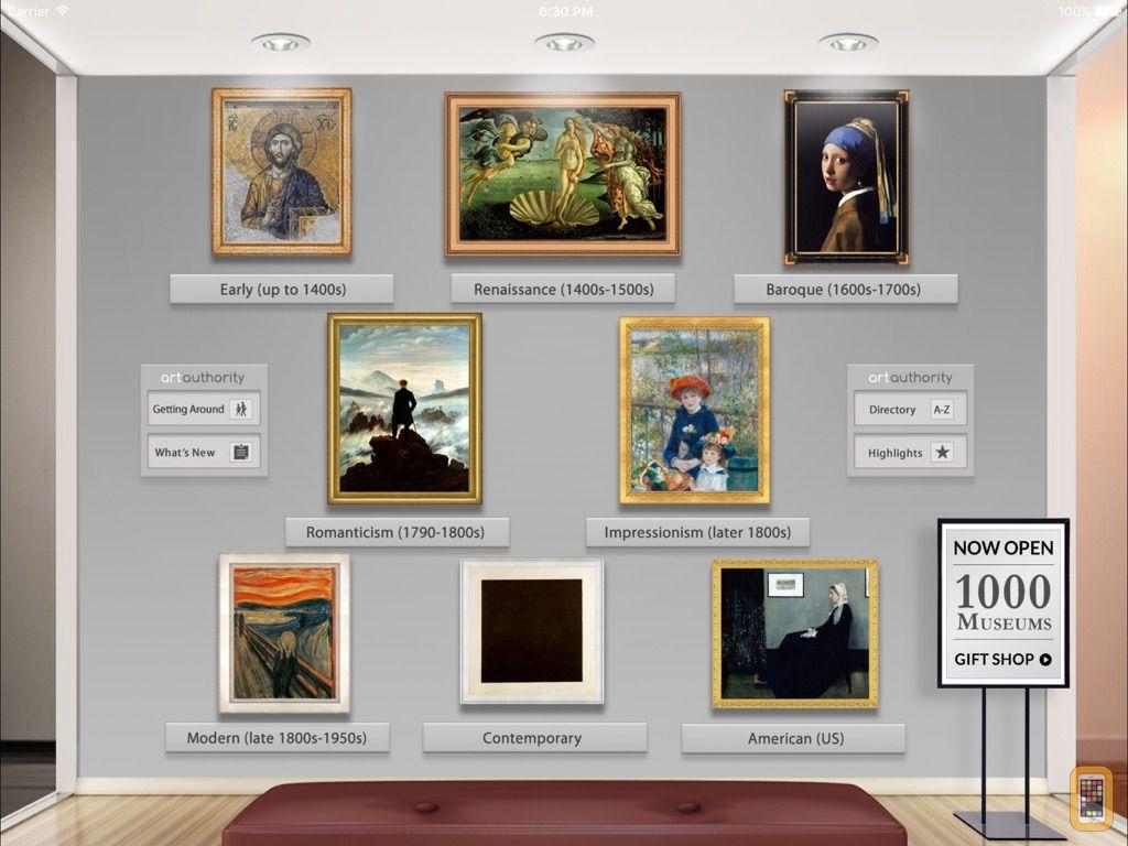 Screenshot - Art Authority for iPad
