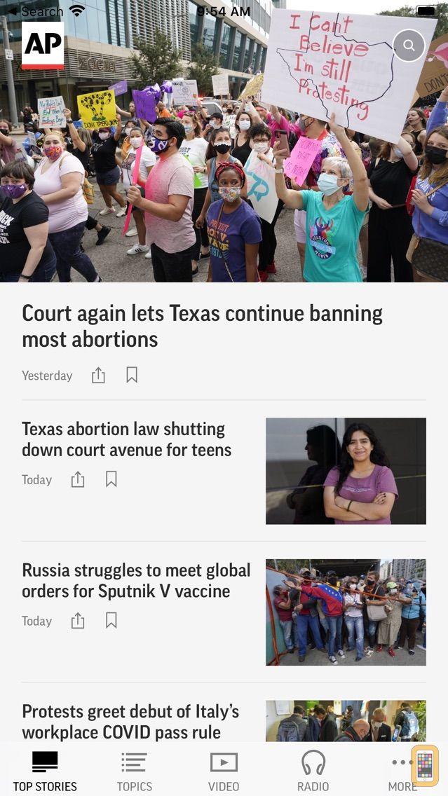 Screenshot - AP News