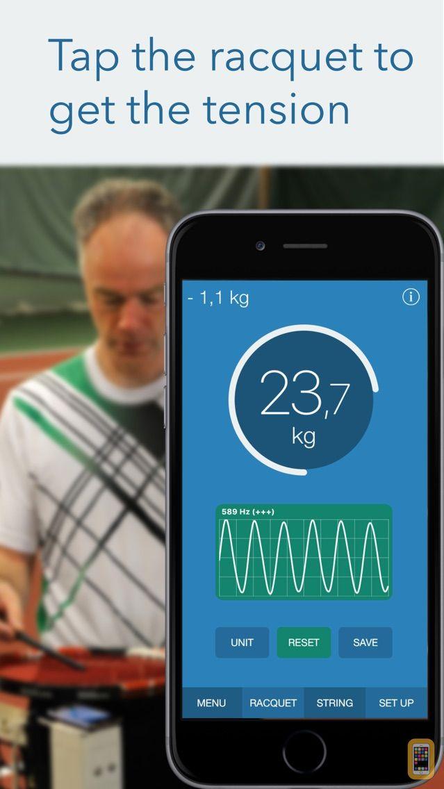 Screenshot - RacquetTune - String Tension