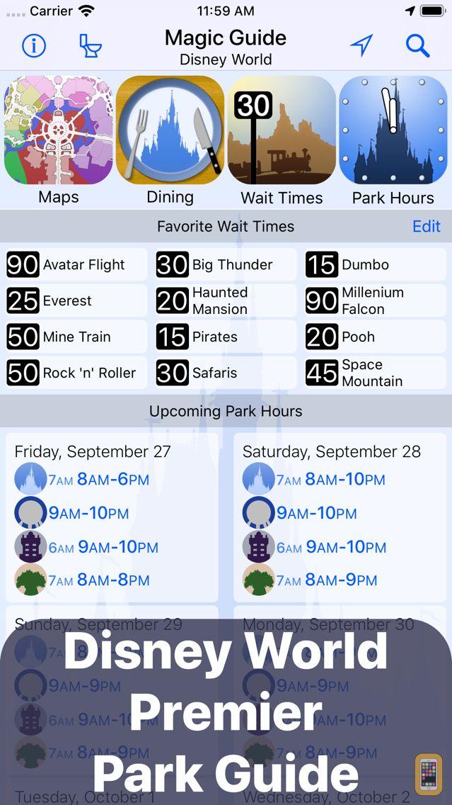 Screenshot - Magic Guide for Disney World