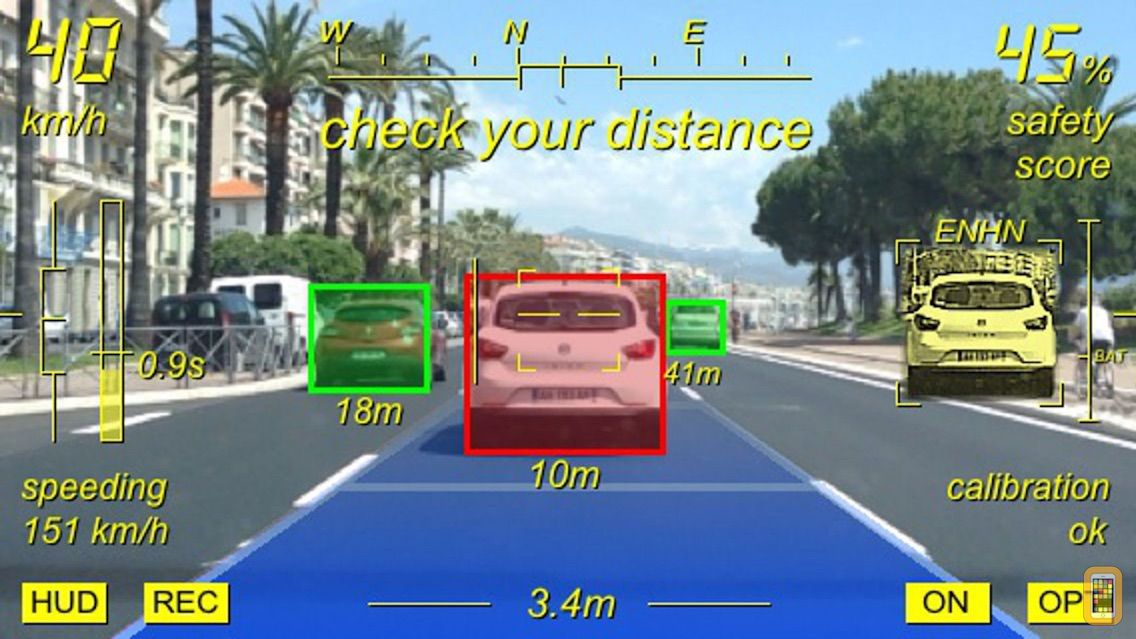 Screenshot - Augmented Driving