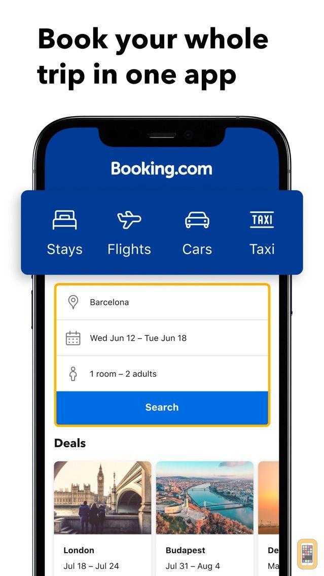 Screenshot - Booking.com Travel Deals