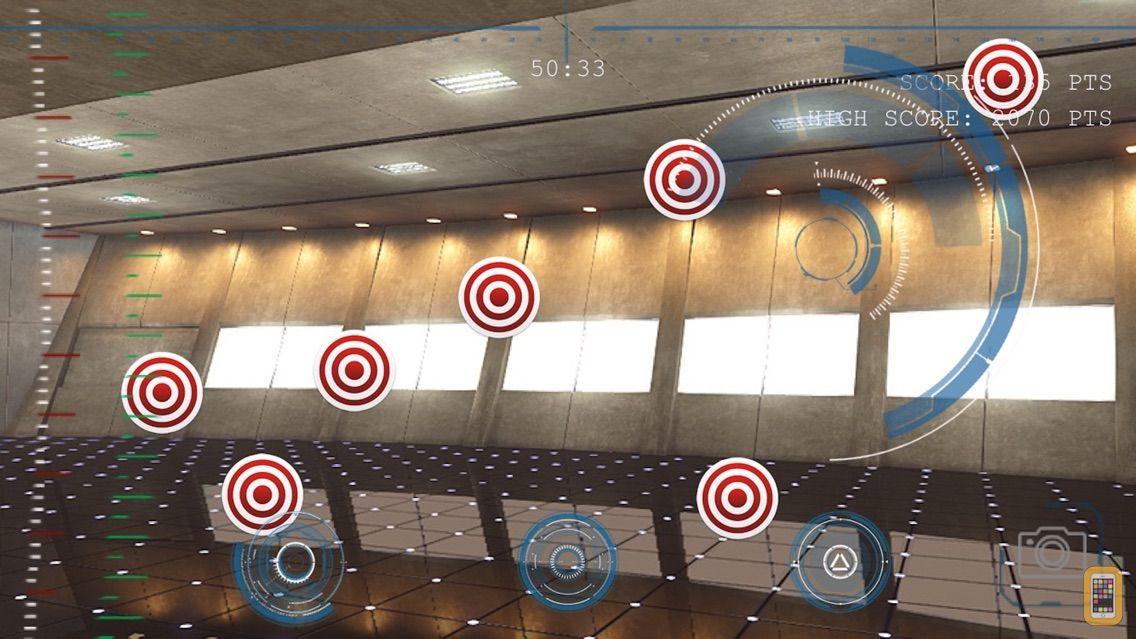 Screenshot - Iron HUD - Augmented Reality For Avenger Iron Man