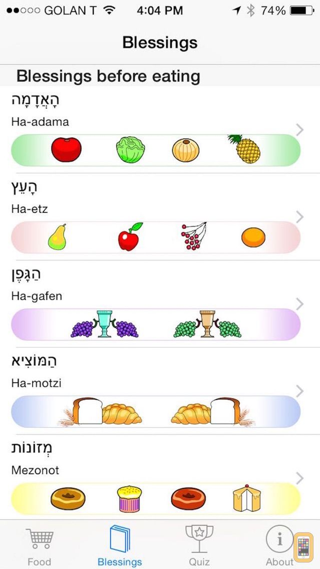 Screenshot - iBless Food