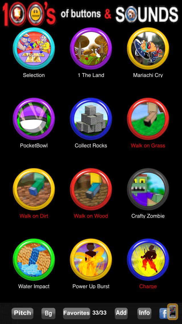 Screenshot - 100's of Buttons & Sounds Pro