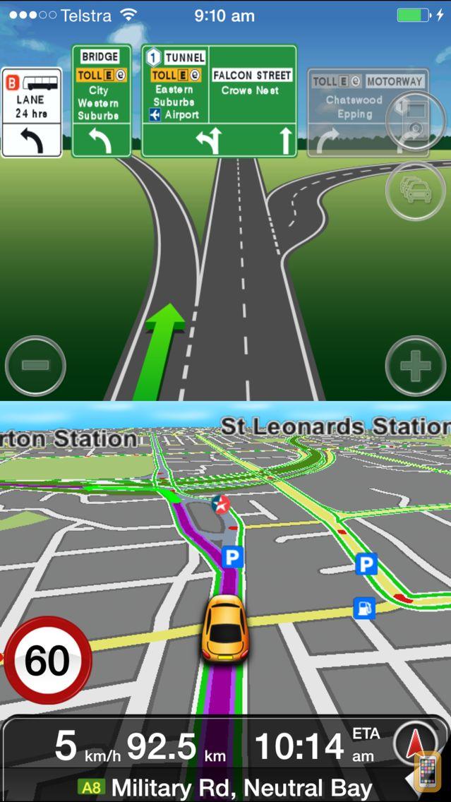 Screenshot - MetroView GPS Navigation