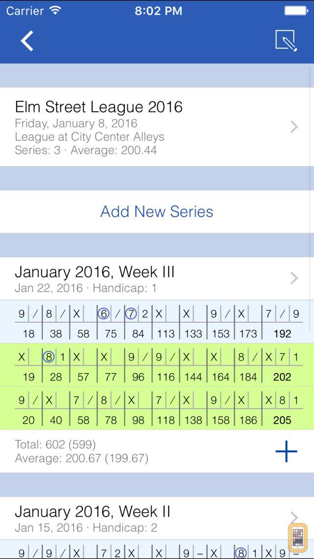 Screenshot - Perfect Game: Bowling Scores