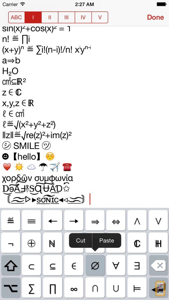 Screenshot - Unicode Pad