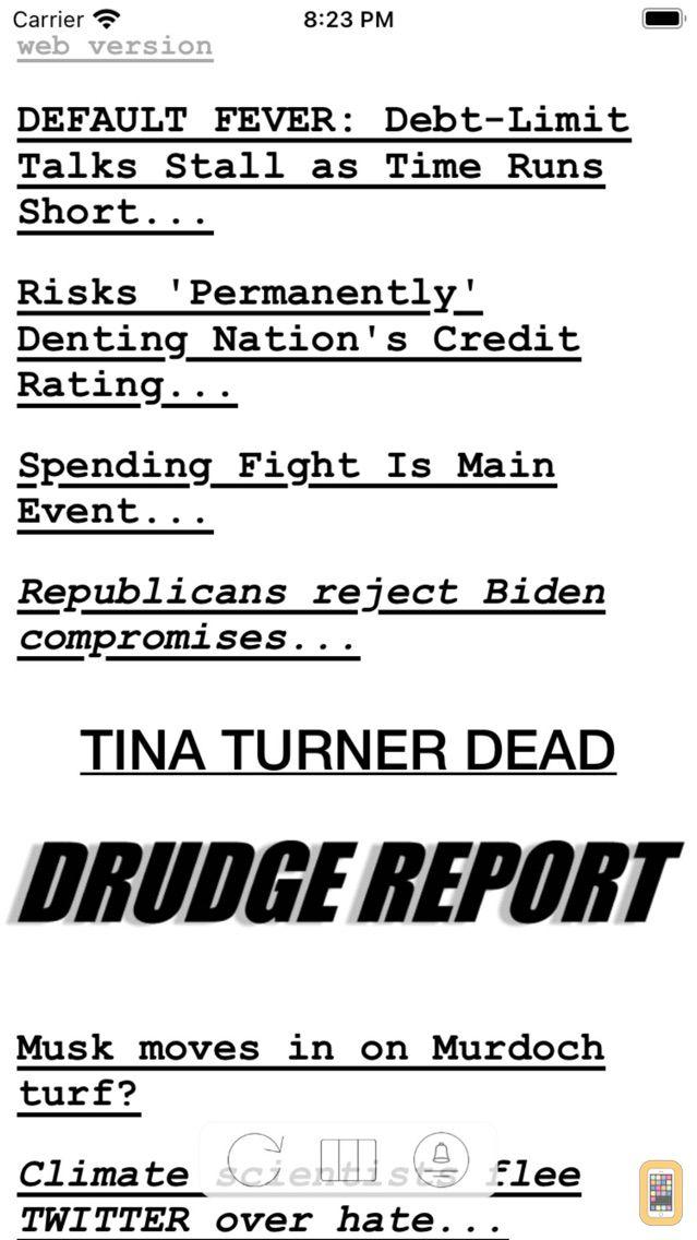 Screenshot - Drudge Report (Official)