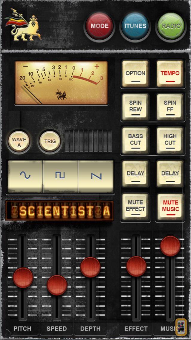 Screenshot - Dub Siren DX -DJ Mixer Synth + Reggae Dub Radio