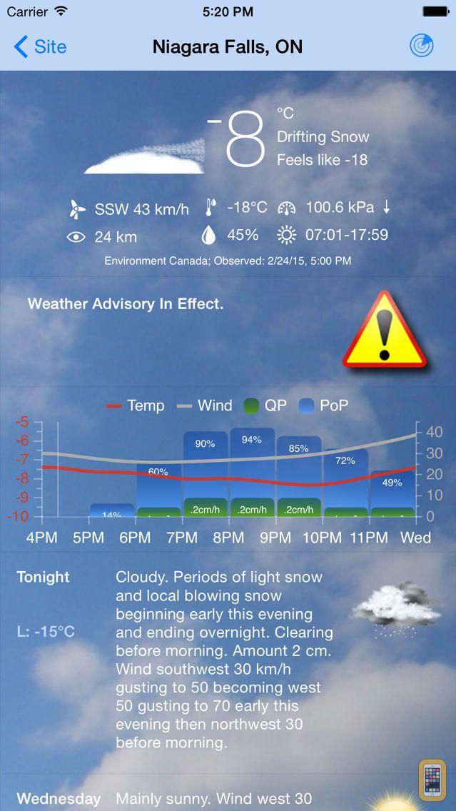 Screenshot - Weather Office
