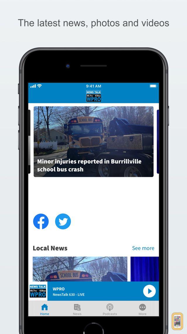 Screenshot - News Talk 630 WPRO & 99.7 FM