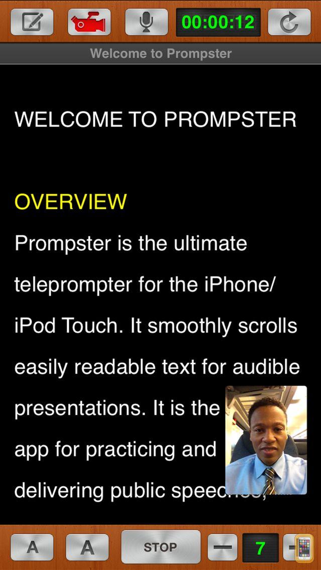 Screenshot - Prompster Pro™ - Teleprompter