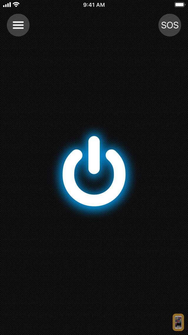 Screenshot - Flashlight for iPhone, iPad and iPod