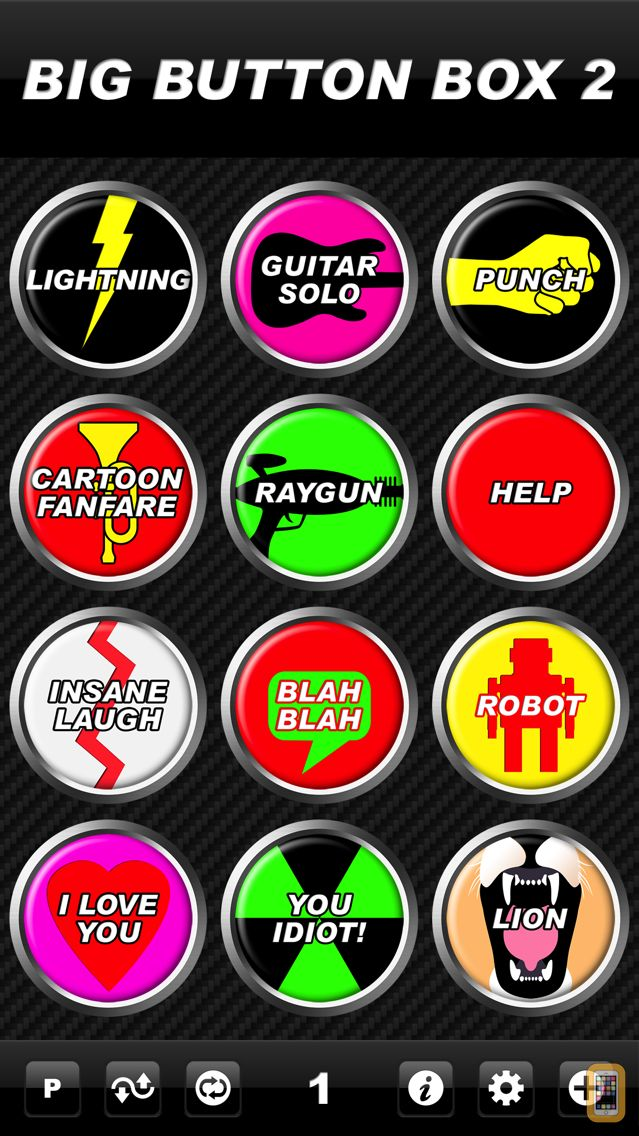Screenshot - Big Button Box 2 - funny sound effects & sounds