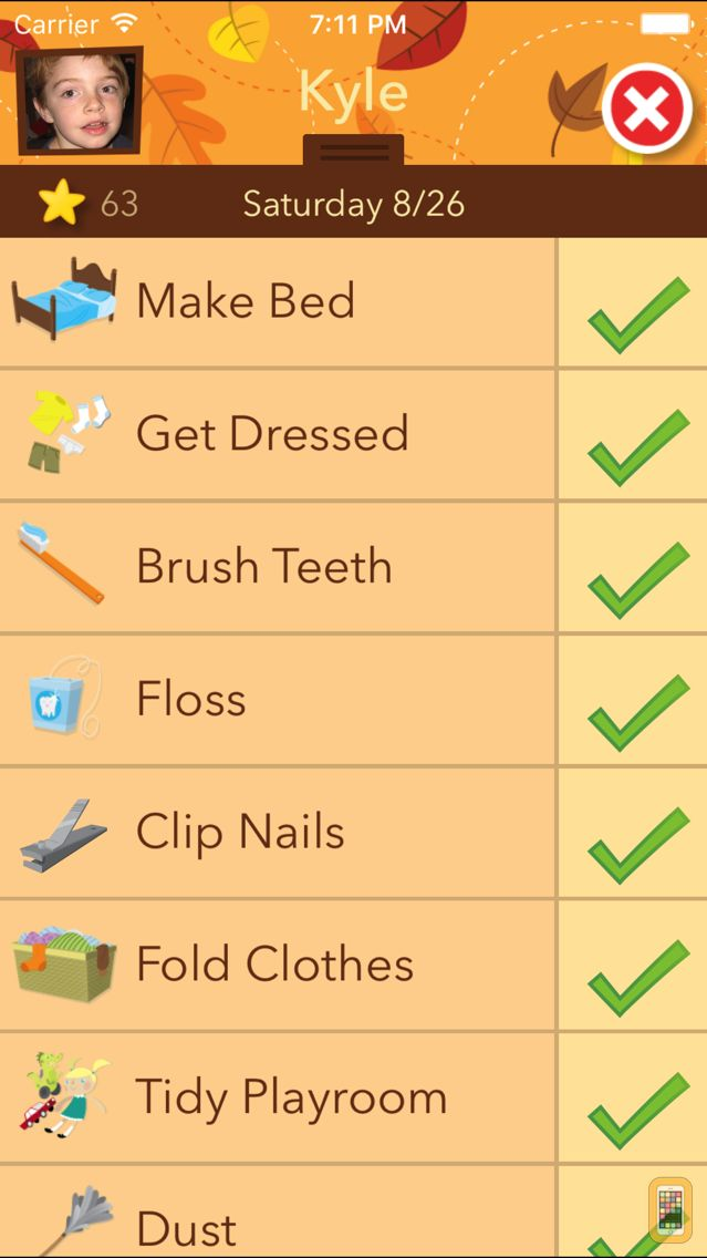 Screenshot - Chore Pad: Chores & Rewards, Beautifully Themed