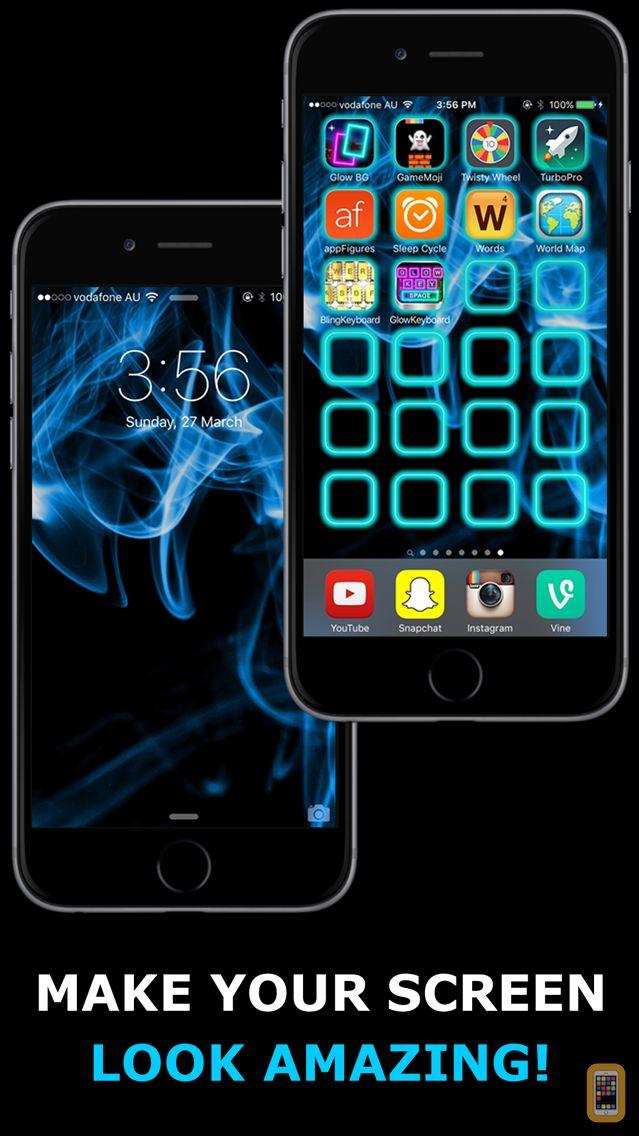Screenshot - Glow Backgrounds - Wallpapers!