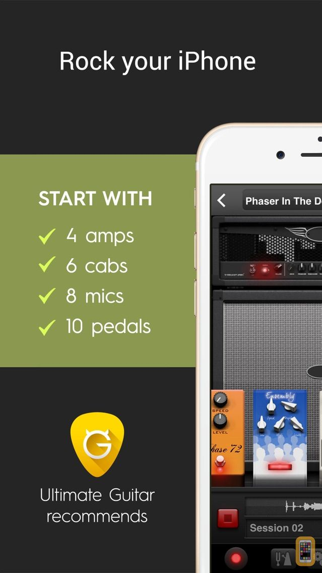 Screenshot - AmpKit+ guitar amps & pedals