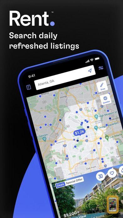 Screenshot - Rent.com Apartments & Homes