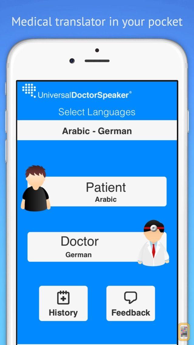 Screenshot - Universal Doctor Speaker: Medical Translator with Audios