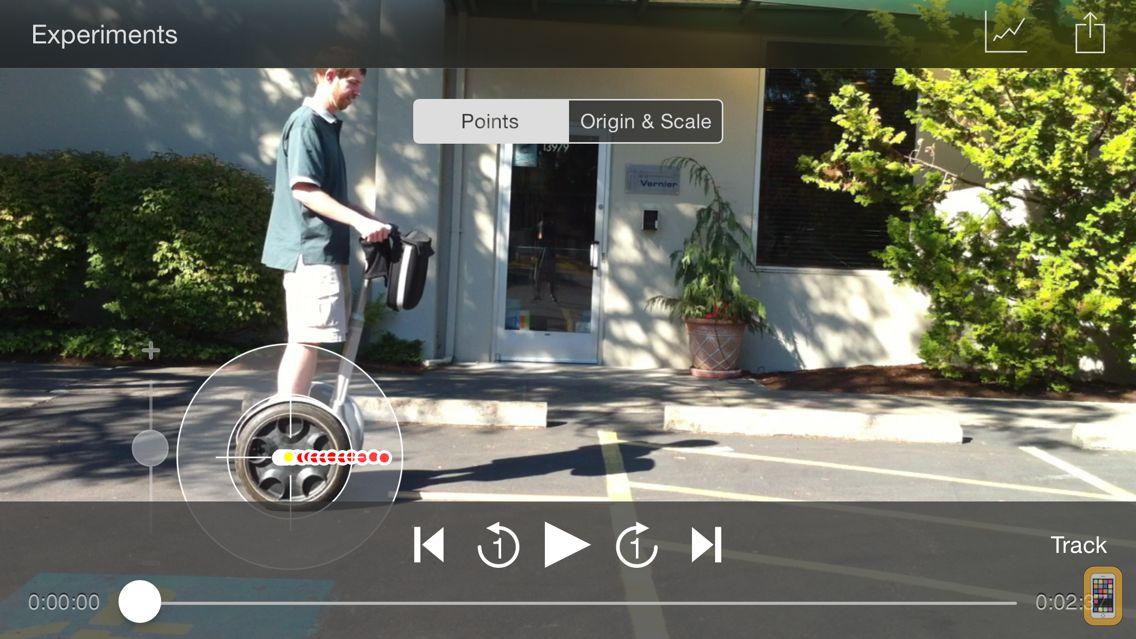 Screenshot - Vernier Video Physics