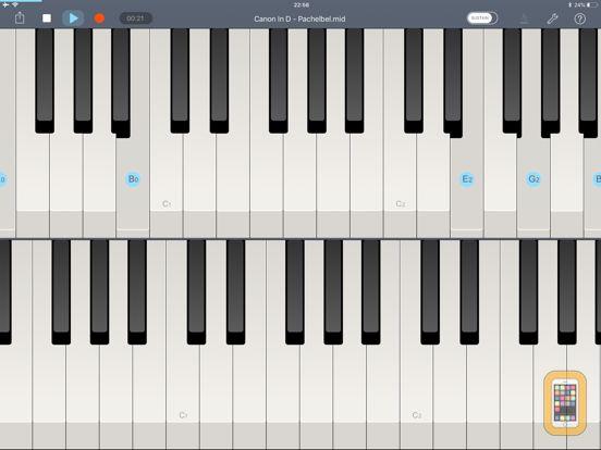 Screenshot - Echo Piano™ Pro