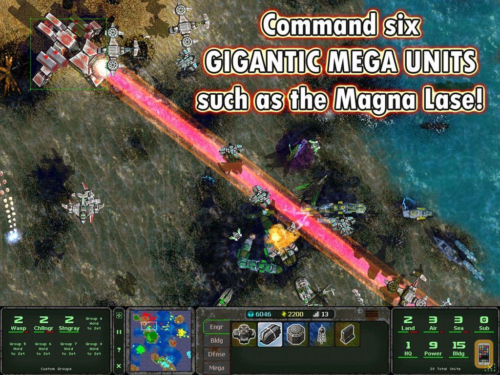 Screenshot - Land Air Sea Warfare HD