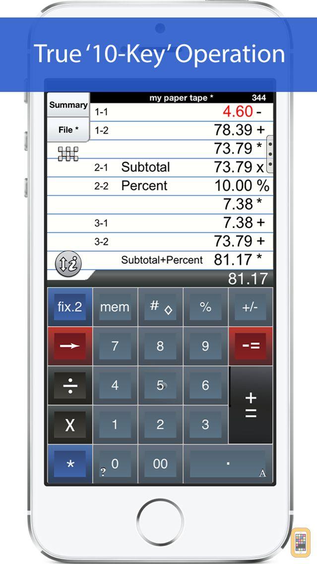 Screenshot - Adding Machine 10Key iPhone