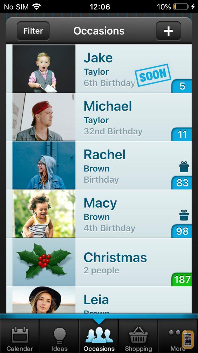 Screenshot - Gift Plan