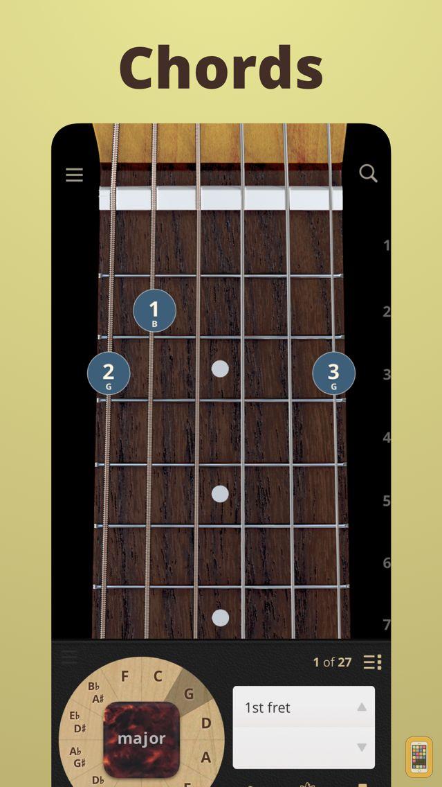 Screenshot - ChordBank  -  Guitar Chord App