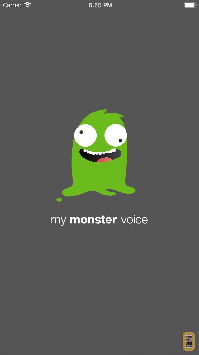 Screenshot - my monster voice