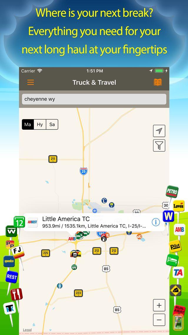 Screenshot - Truck Stops & Travel Plazas