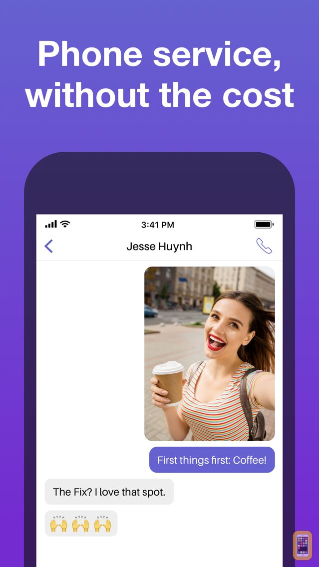 Screenshot - Text Free: Texting App + SMS