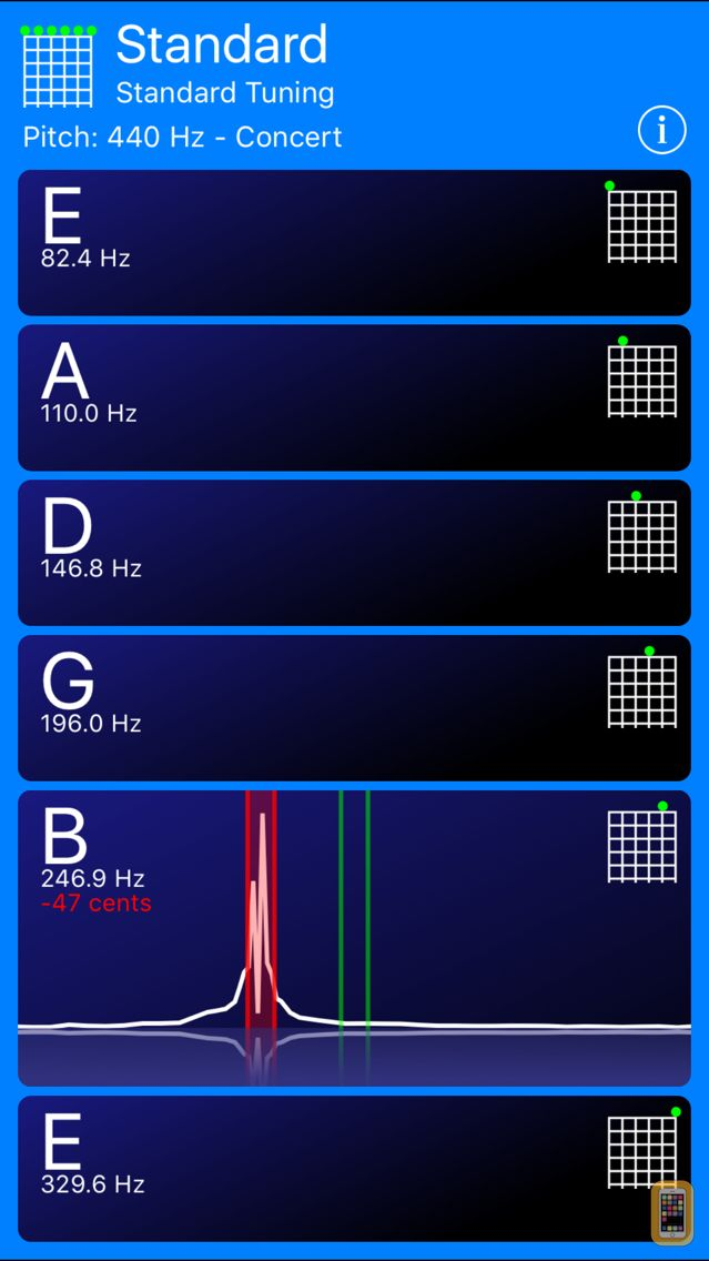 Screenshot - Guitar Tuner!