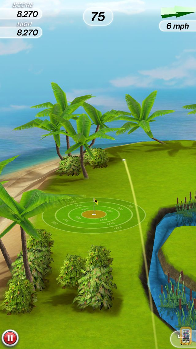 Screenshot - Flick Golf!