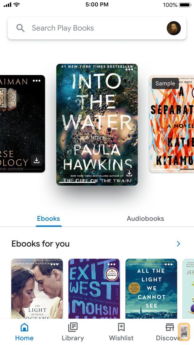 Screenshot - Google Play Books