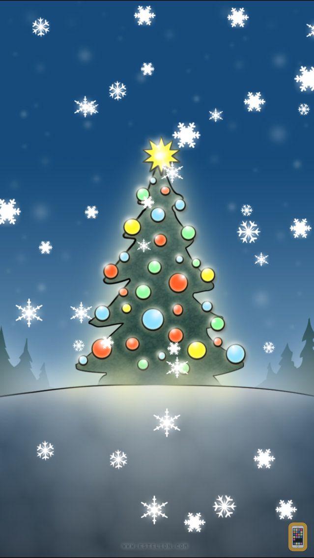 Screenshot - Christmas Slideshow & Wallpapers (animated snow!)