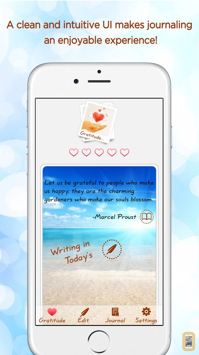 Screenshot - Gratitude Journal - The Life-changing App