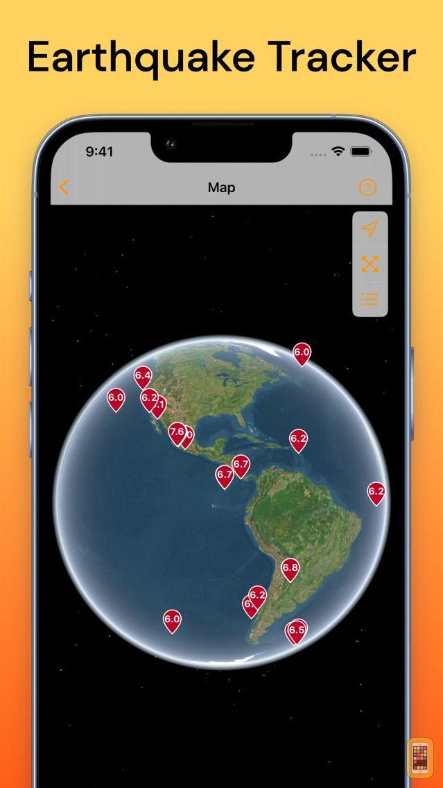 Screenshot - QuakeFeed Earthquake Alerts