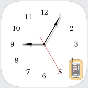 The Clocks: Alarm, World Clock by Meanterm Inc. (Universal)