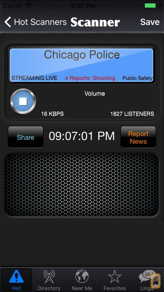 Screenshot - Police Scanner Radio