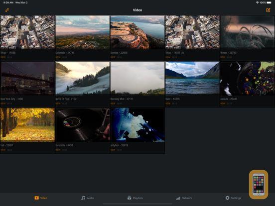Screenshot - Azul - Video player for iPad