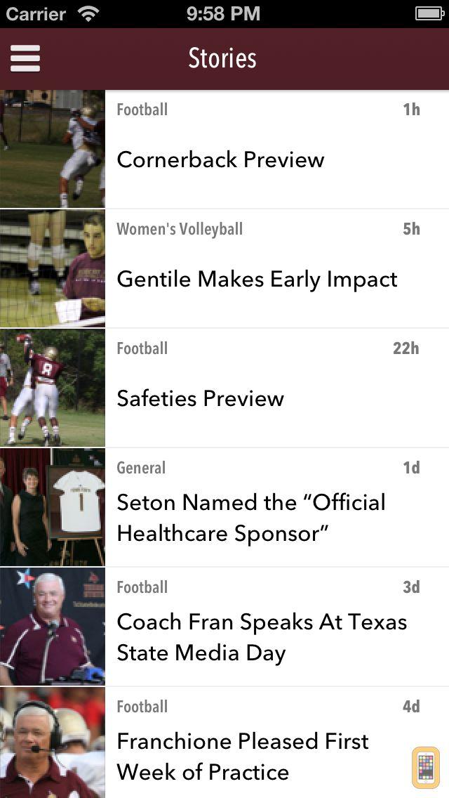 Screenshot - Texas State Bobcats