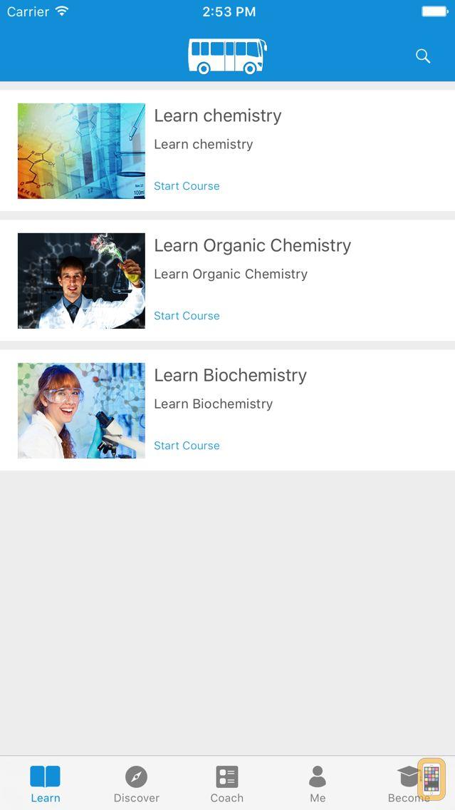 Screenshot - Learn Chemistry, Organic Chemistry & Biochemistry - A simpleNeasyApp by WAGmob