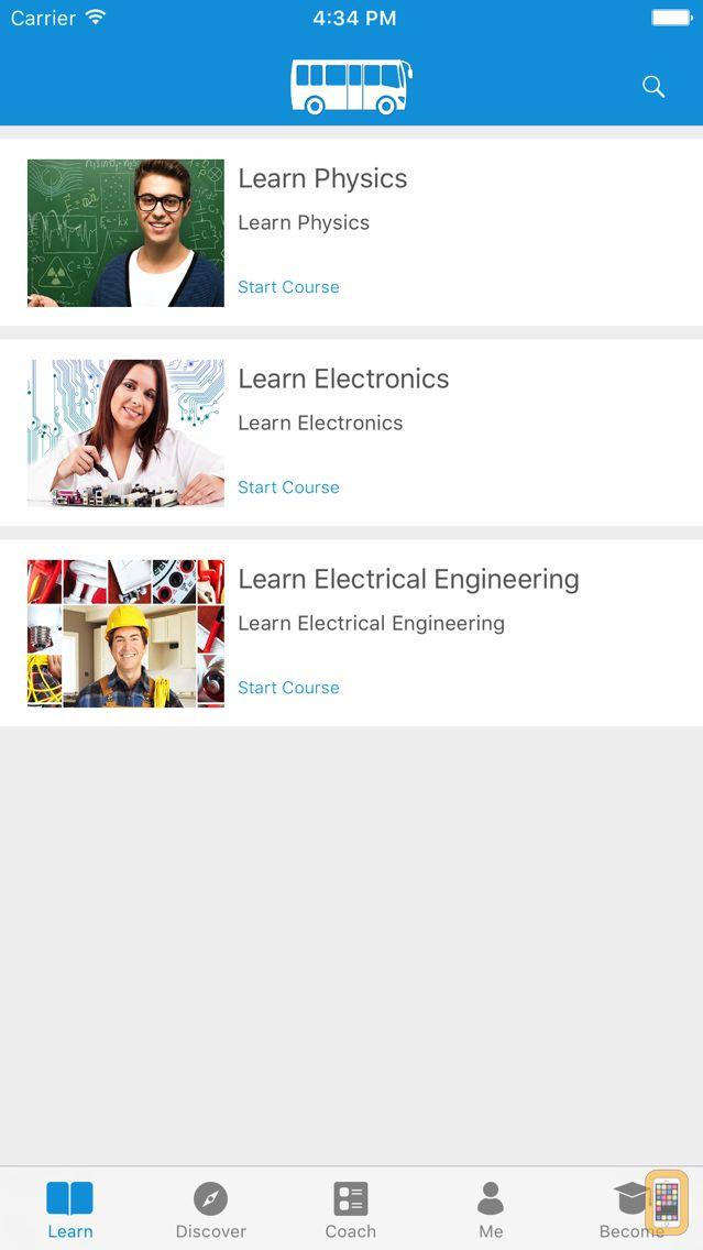 Screenshot - Physics and Electronics - simpleNeasyApp by WAGmob